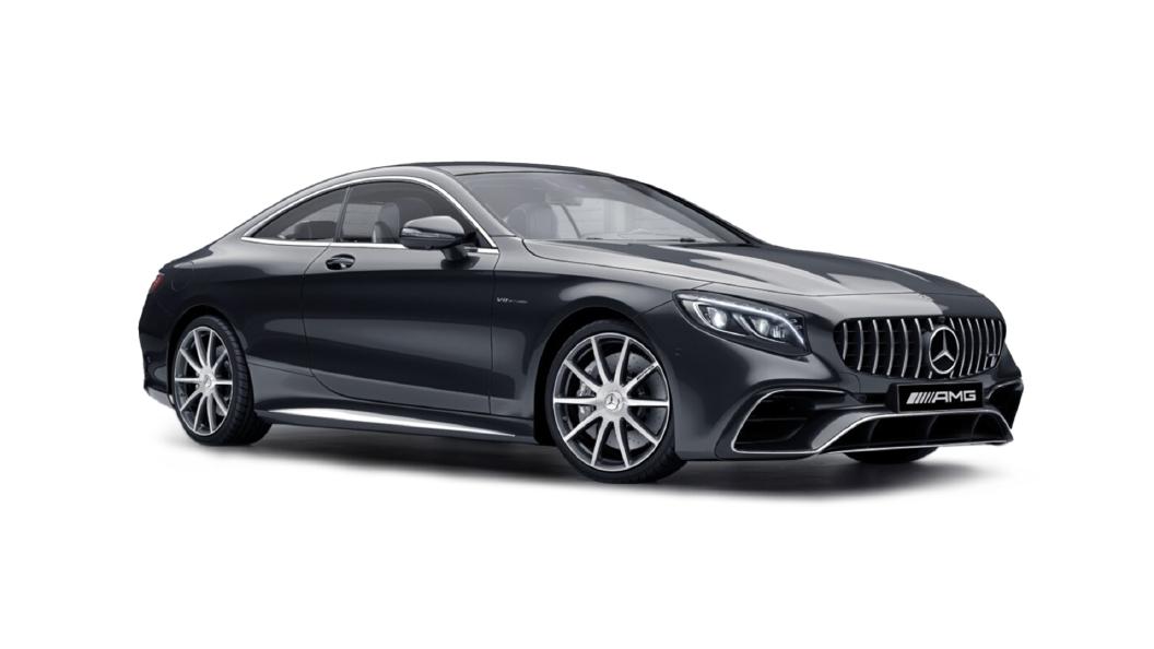 Mercedes Benz  S-Coupe Magnetite Black Colour