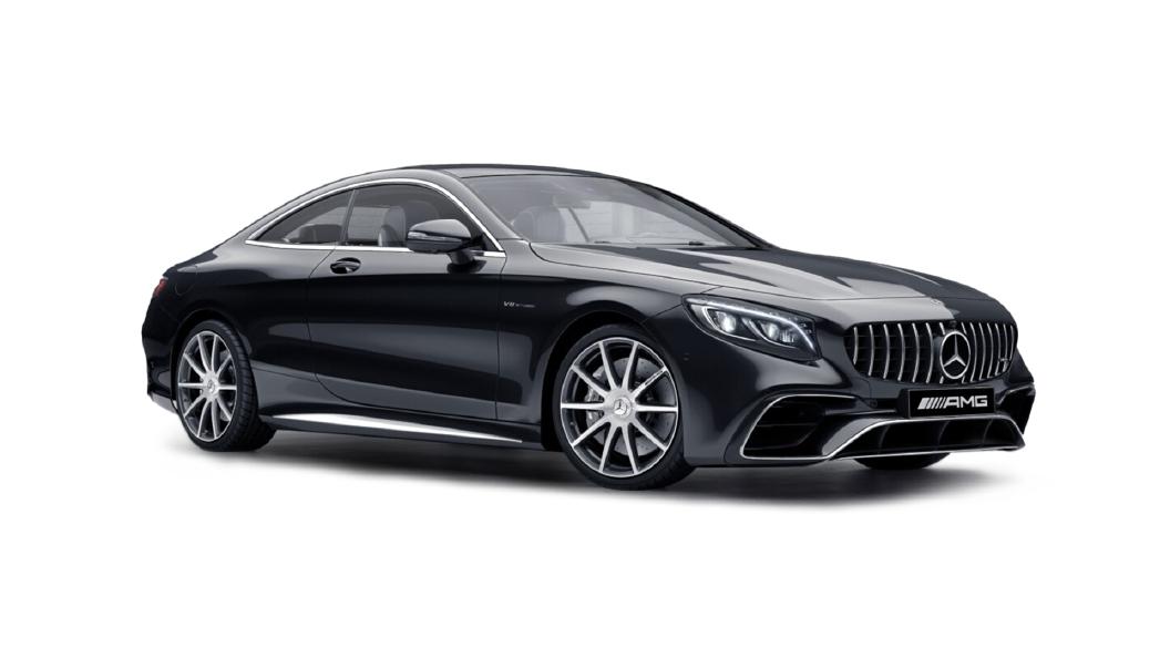 Mercedes Benz  S-Coupe Obsidian Black Metallic Colour