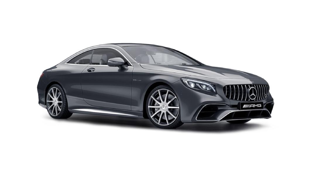 Mercedes Benz  S-Coupe Selenite Grey Colour