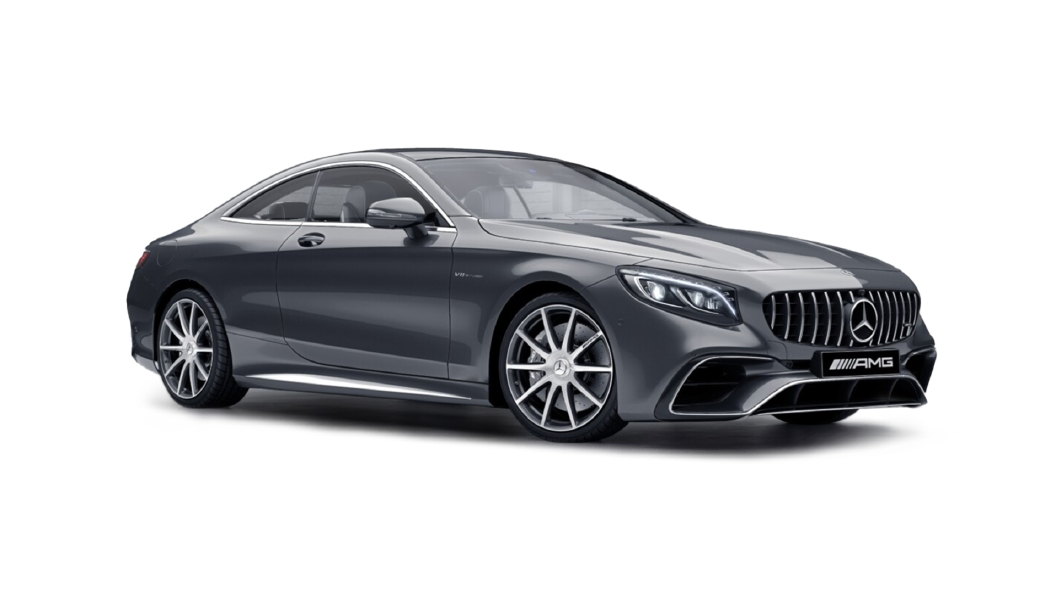 Mercedes Benz  S-Coupe Selenite Grey Colour