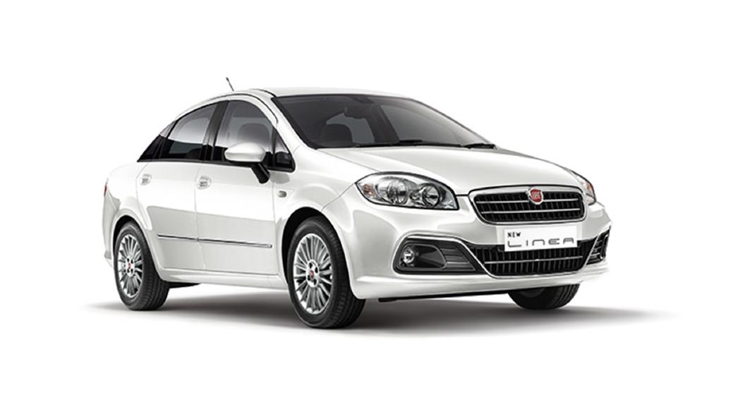 Fiat  Linea Pearl White Colour