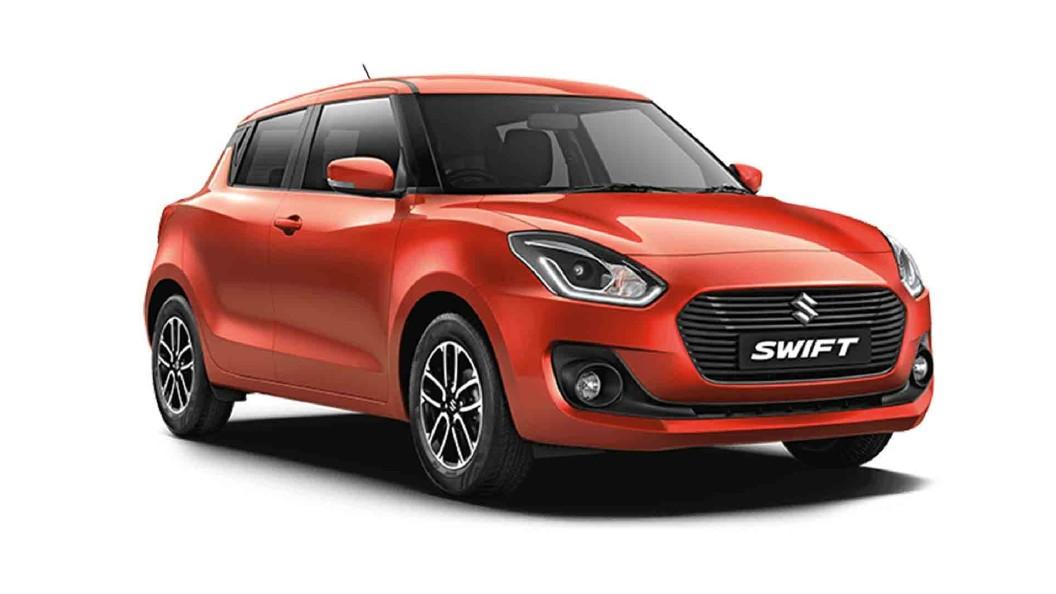Maruti Suzuki  Swift Pearl Metallic Lucent Orange Colour