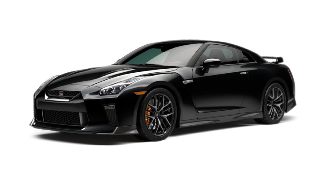 Nissan  GT-R Black Metallic Colour