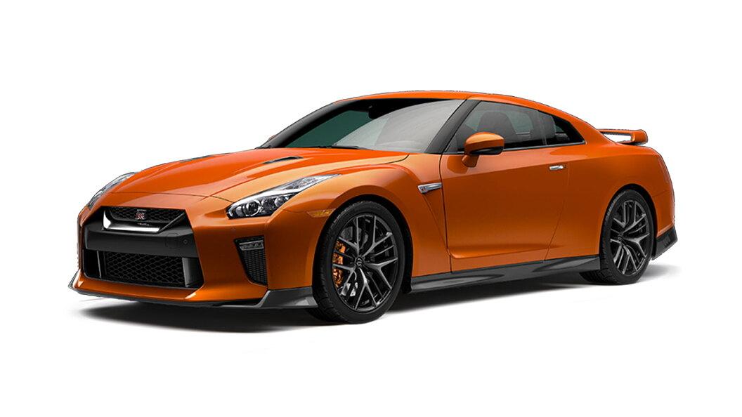 Nissan  GT-R Katsura Orange Colour