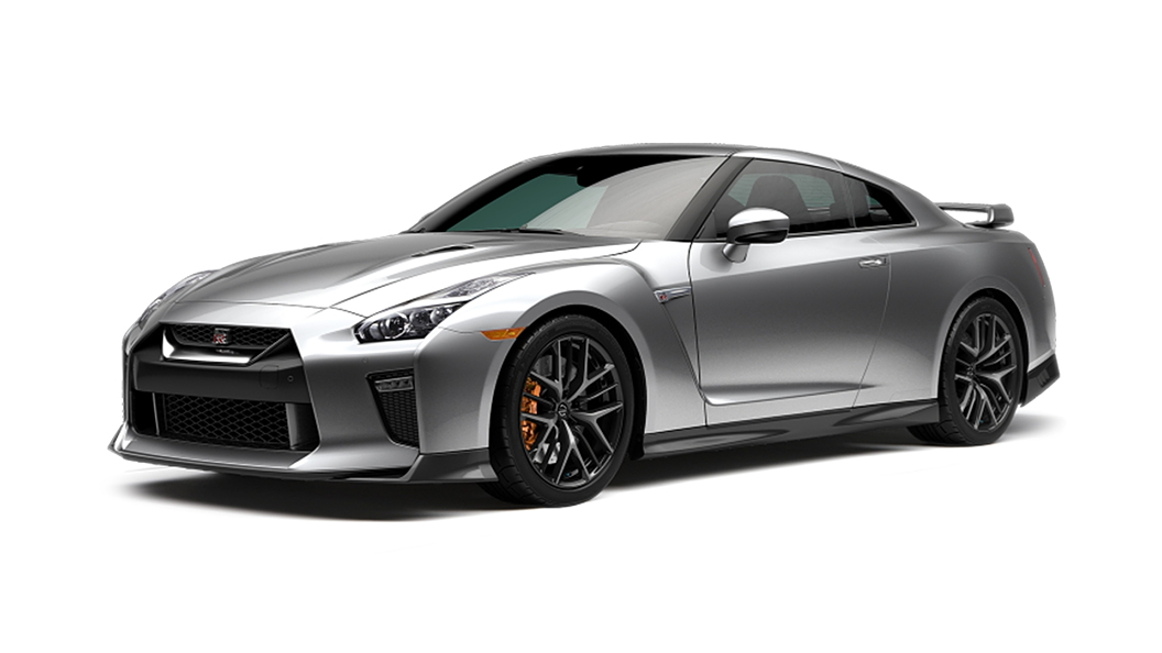 Nissan  GT-R Ultimate Silver Colour