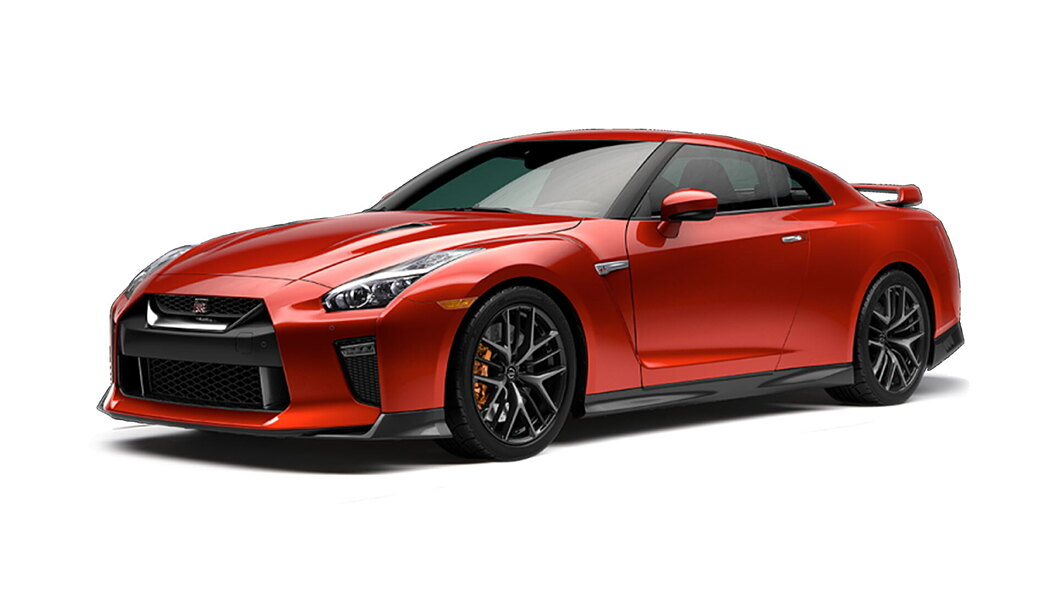 Nissan  GT-R Vibrant Red Colour
