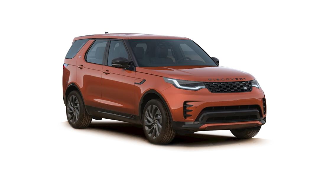 Land Rover  Discovery Namib Orange Metallic Colour