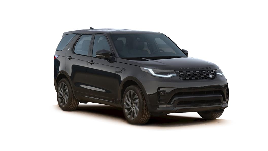 Land Rover  Discovery Santorini Black Metallic Colour