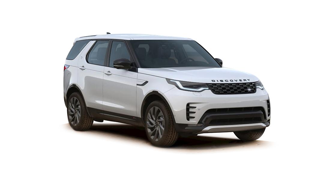 Land Rover  Discovery Yulong White Metallic Colour