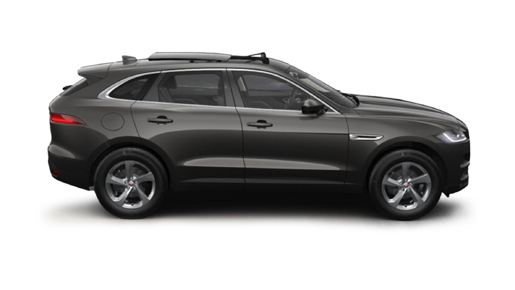 Jaguar  F-Pace Carpathian Grey Colour
