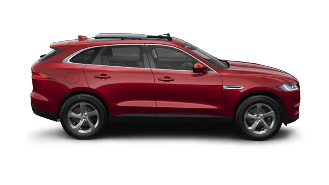 Jaguar  F-Pace Firenze Red Colour