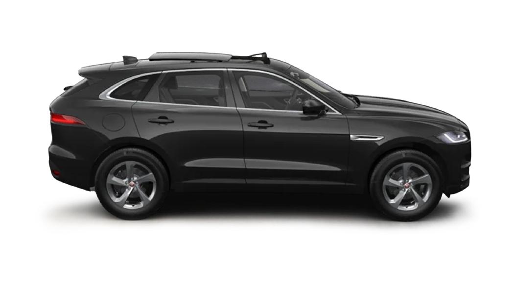 Jaguar  F-Pace Santorini Black Colour