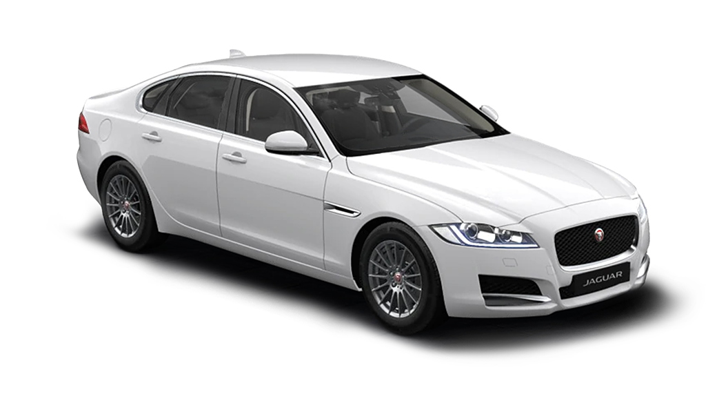 Jaguar  XF Fuji White Colour