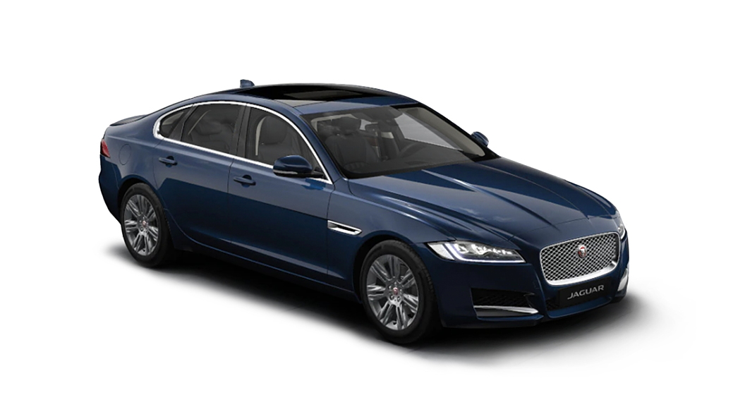 Jaguar  XF Portofino Blue Metallic Colour