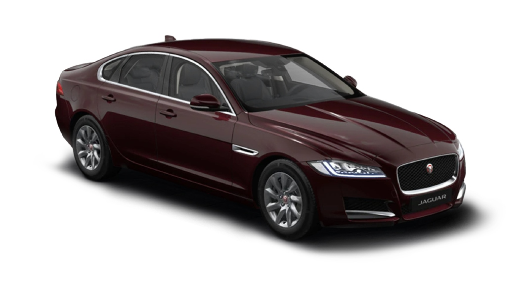 Jaguar  XF Rossello Red Metallic Colour