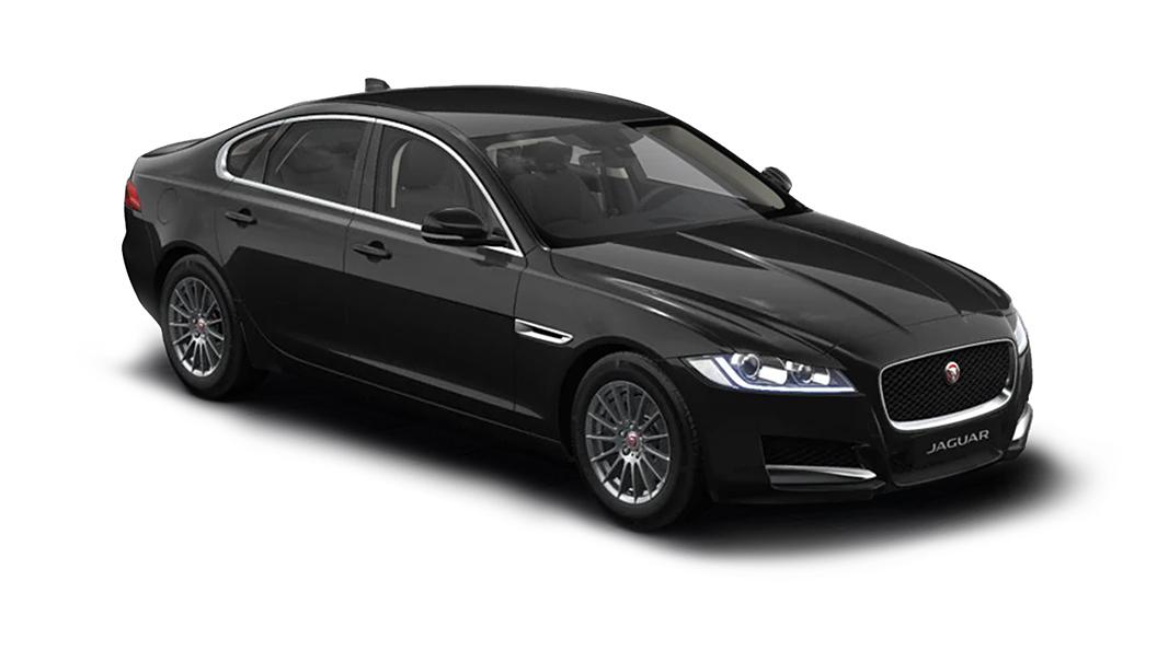 Jaguar  XF Santorini Black Metallic Colour
