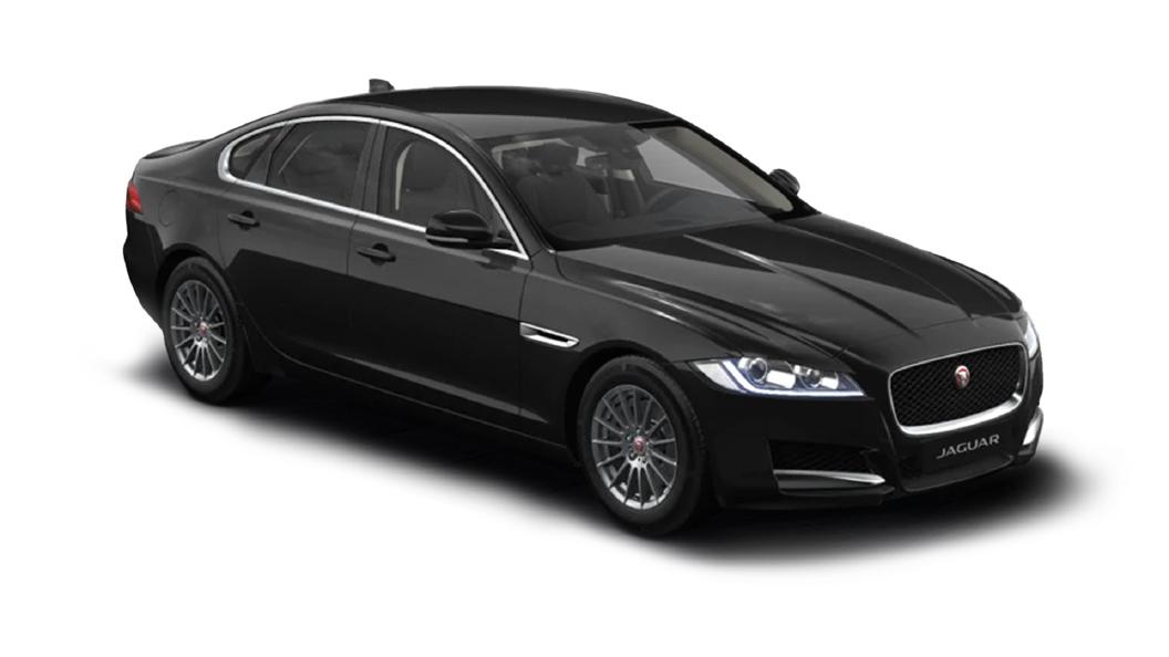 Jaguar  XF Santorini Black Colour