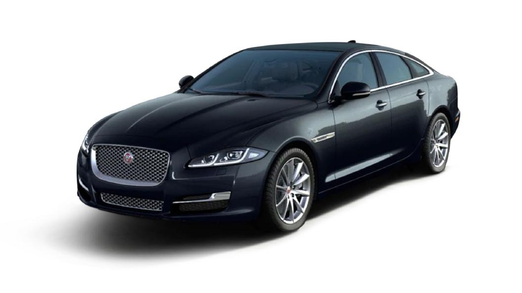 Jaguar  XJ L Farallon Black Colour