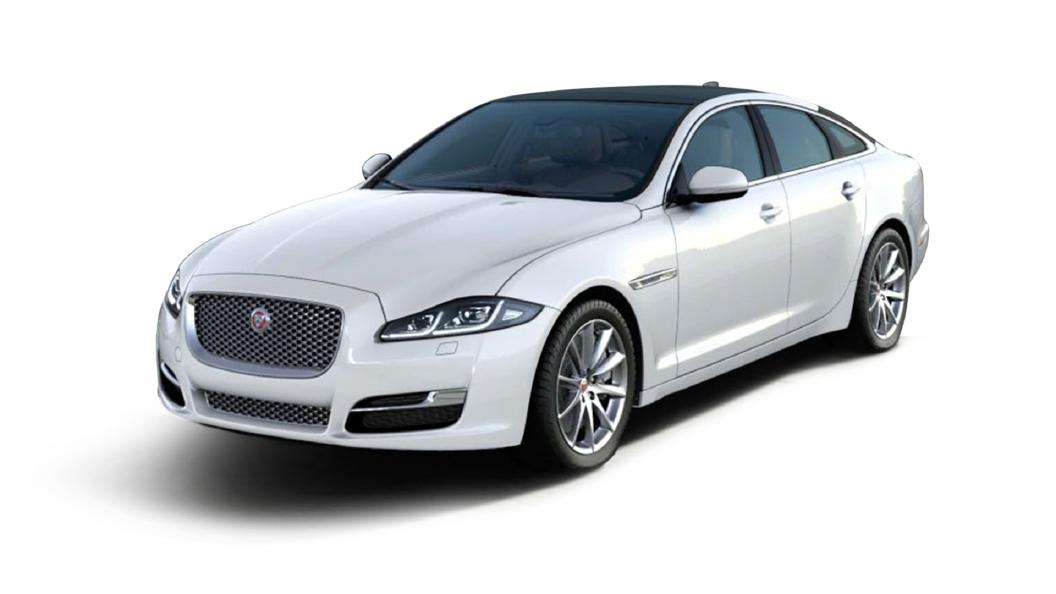 Jaguar  XJ L Fuji White Colour
