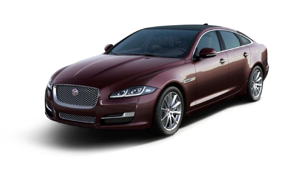 Jaguar  XJ L Rosello Red Metallic Colour
