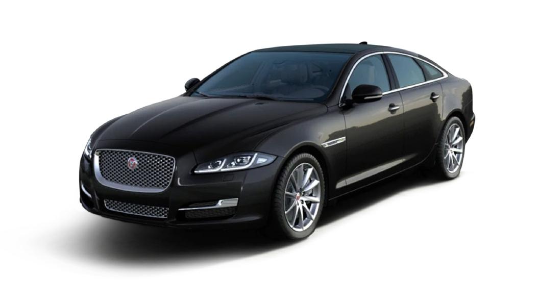 Jaguar  XJ L Santorini Black Metallic Colour
