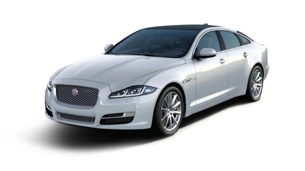 Jaguar  XJ L Yulong White Metallic Colour