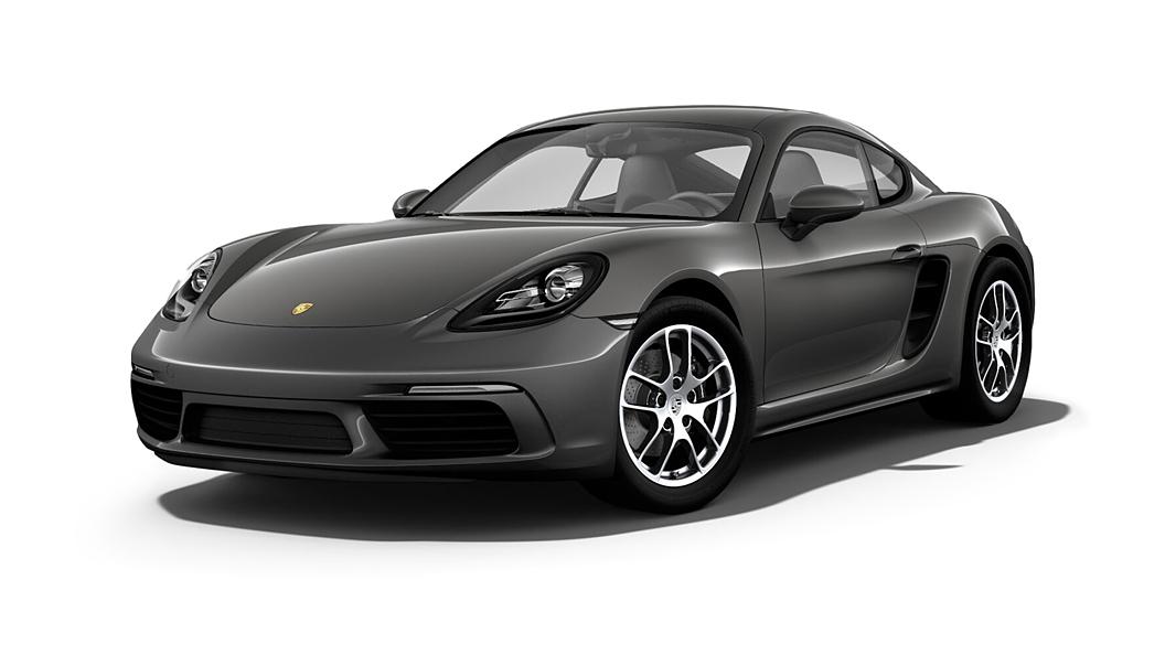 Porsche  718 Agate Grey Metallic Colour