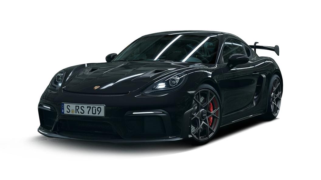 Porsche  718 Black Colour