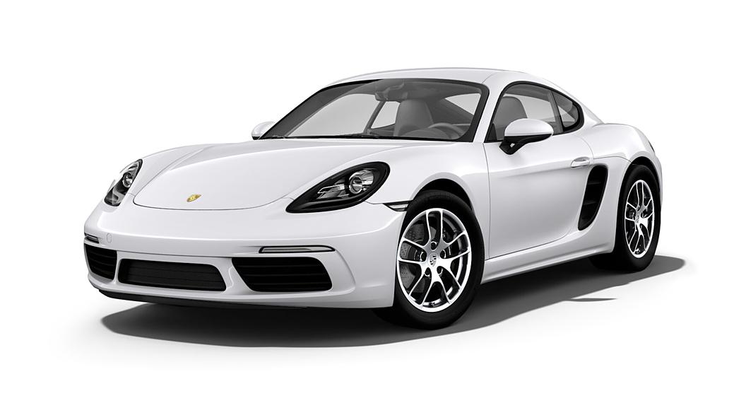 Porsche  718 Carrara White Metallic Colour