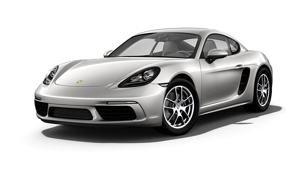 Porsche  718 GT Silver Metallic Colour