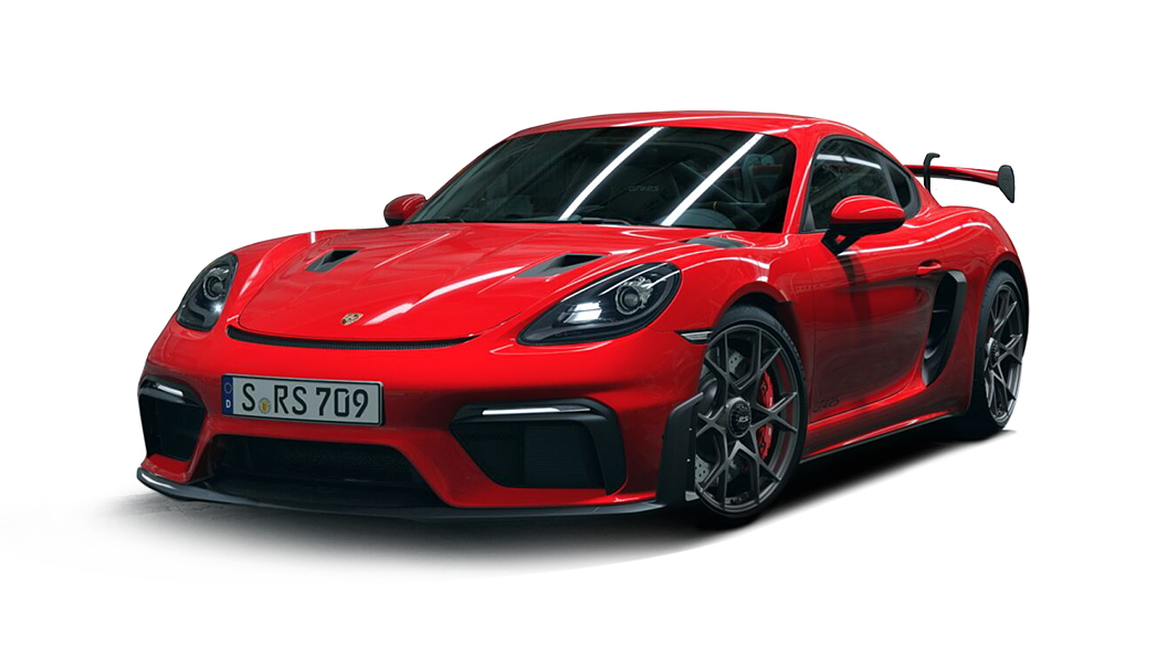 Porsche  718 Guards Red Colour