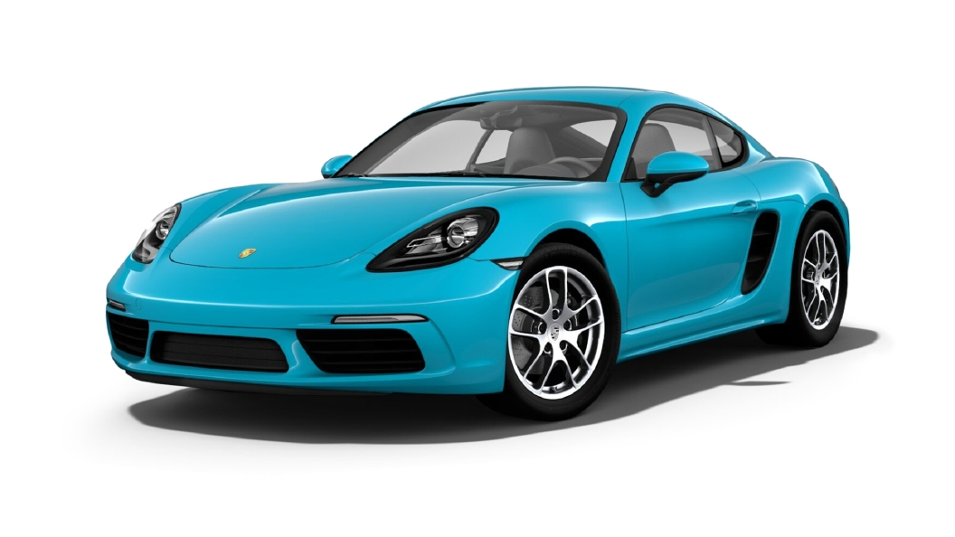 Porsche  718 Miami Blue Colour