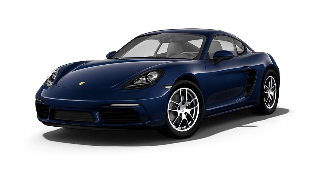 Porsche  718 Night Blue Metallic Colour