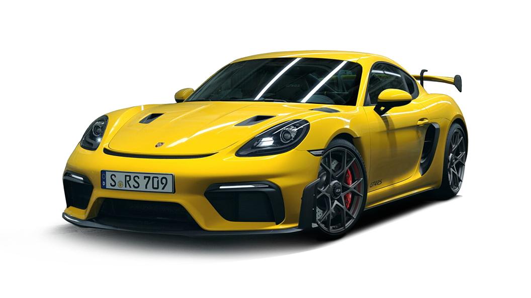 Porsche  718 Racing Yellow Colour