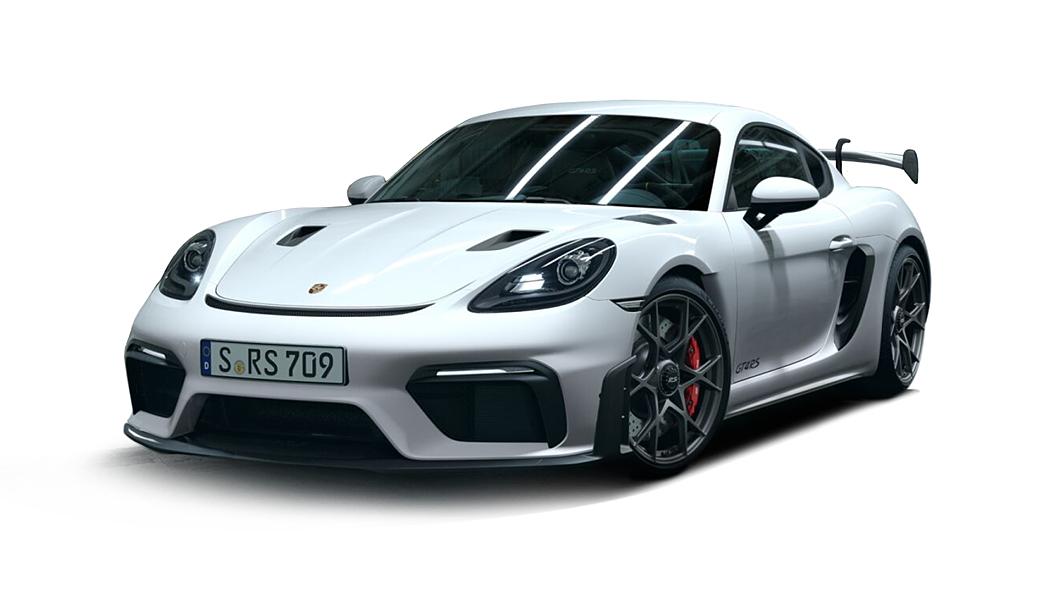 Porsche  718 White Colour