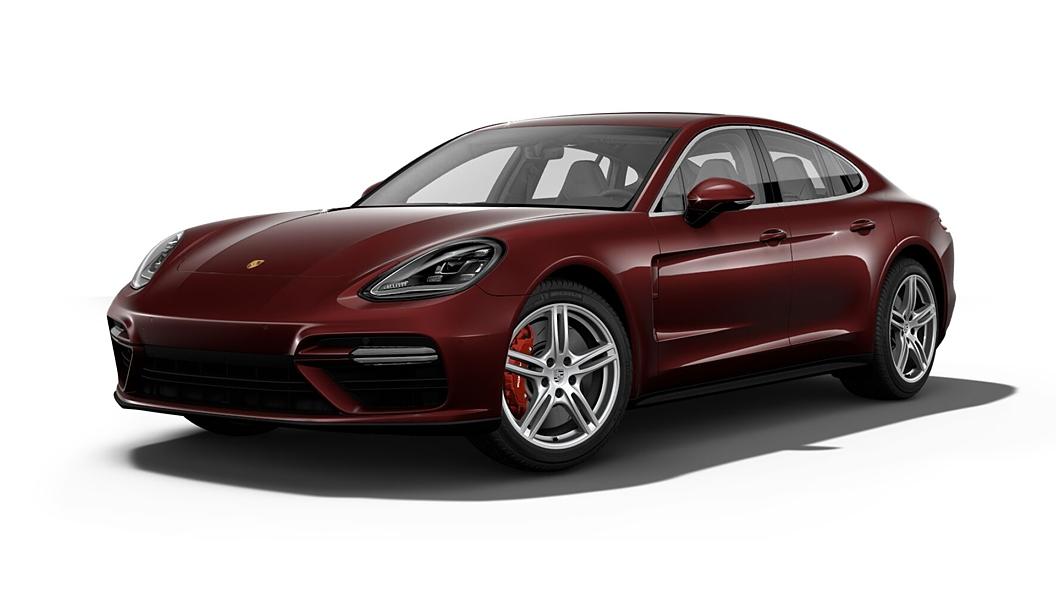 Porsche  Panamera Burgundy Red Metallic Colour