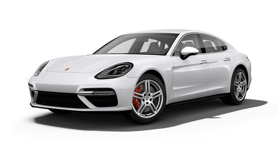 Porsche  Panamera Carrara White Metallic Colour