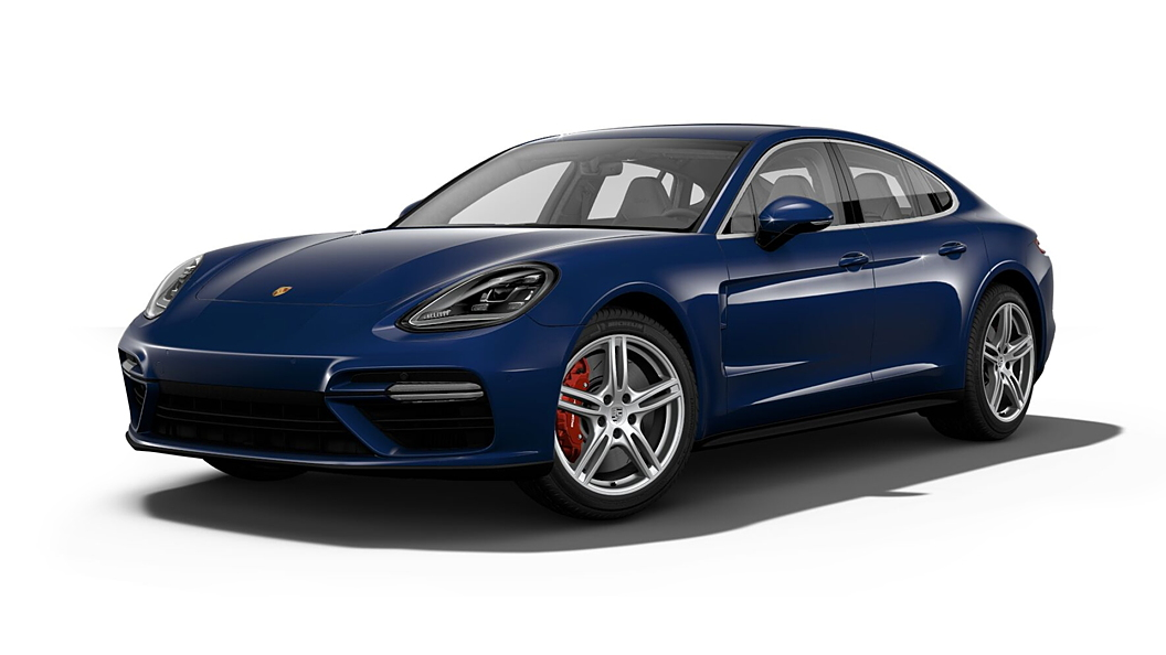 Porsche  Panamera Gentian Blue Metallic Colour