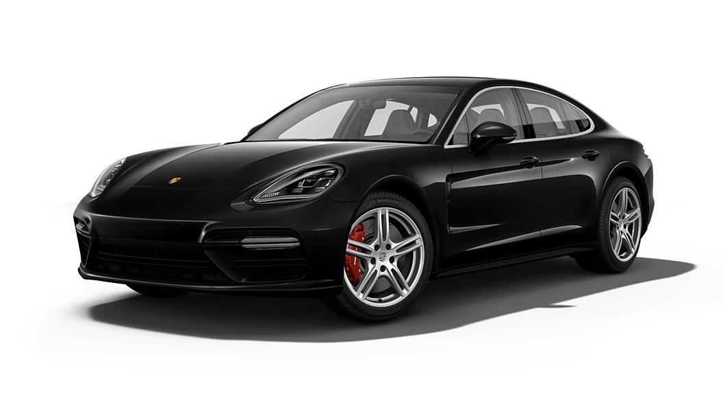 Porsche  Panamera Jet Black Metallic Colour