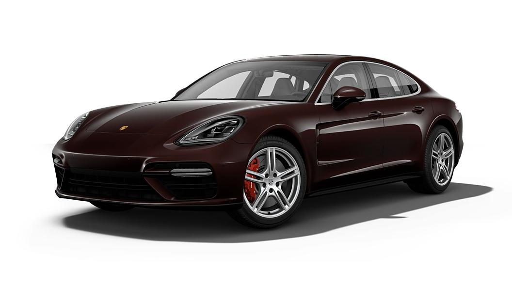 Porsche  Panamera Mahogany Metallic Colour