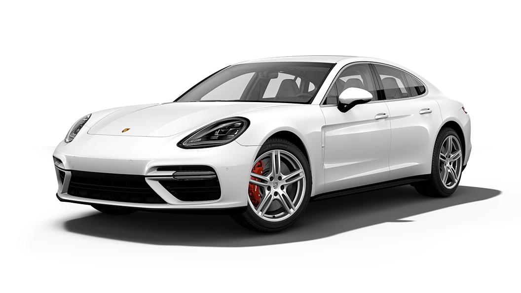 Porsche  Panamera White Colour