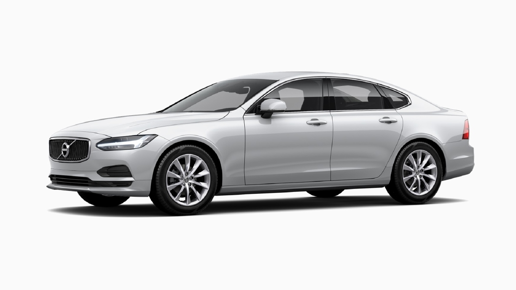 Volvo  S90 Crystal White pearl Colour