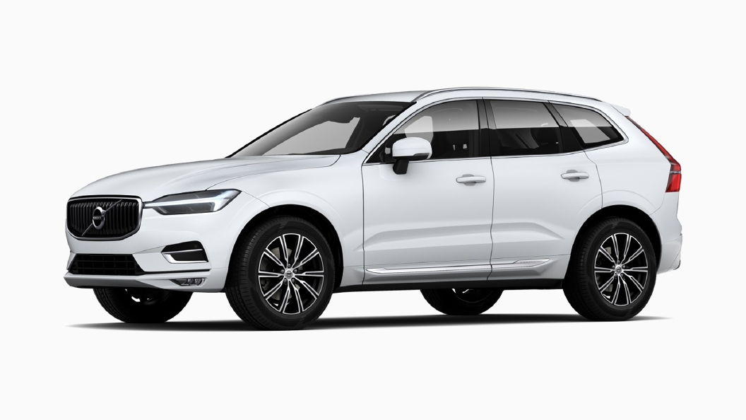 Volvo  XC60 Crystal White Pearl Colour