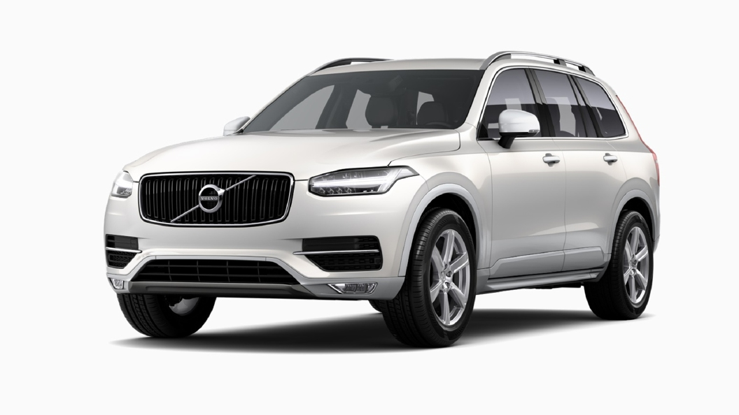 Volvo  XC90 Crystal White Pearl Colour