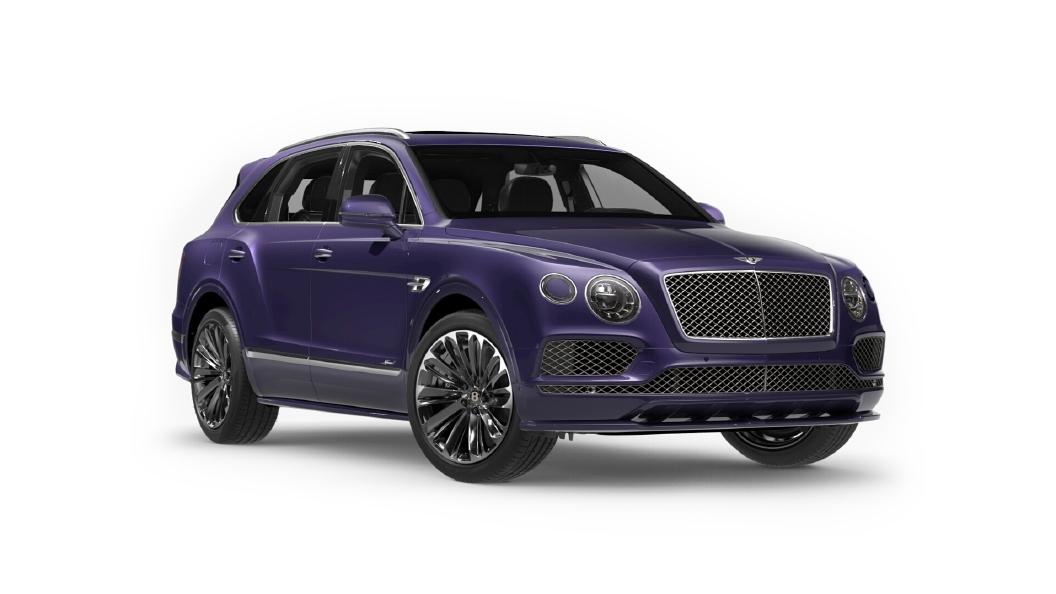 Bentley  Bentayga Azure Purple Colour