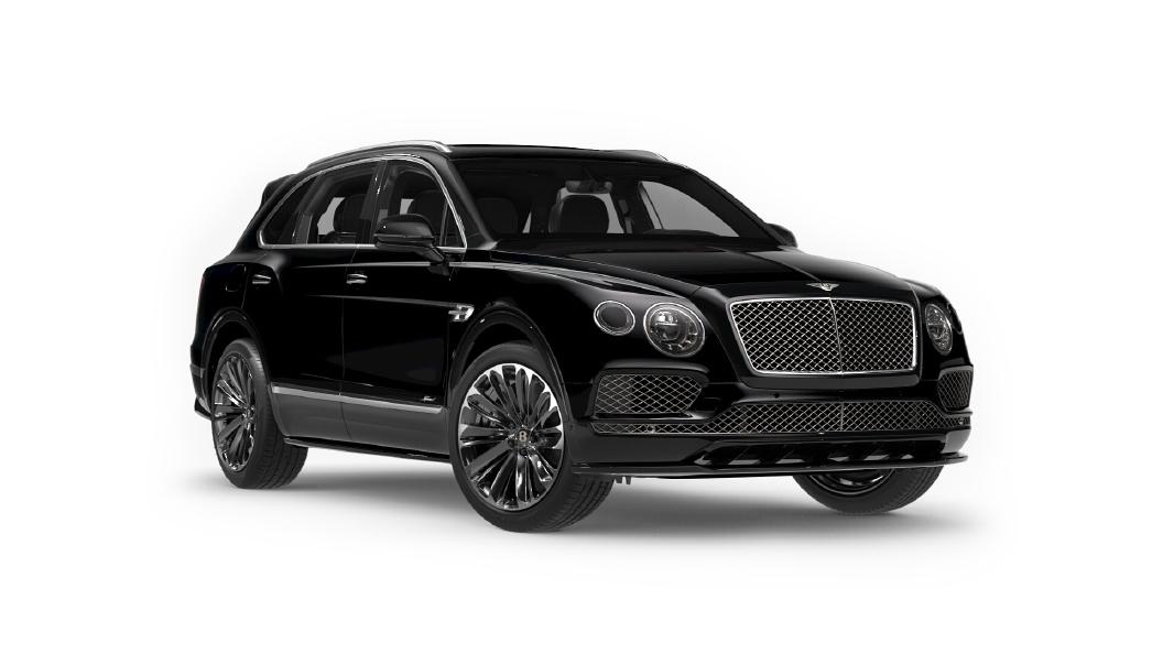 Bentley  Bentayga Black Crystal Colour