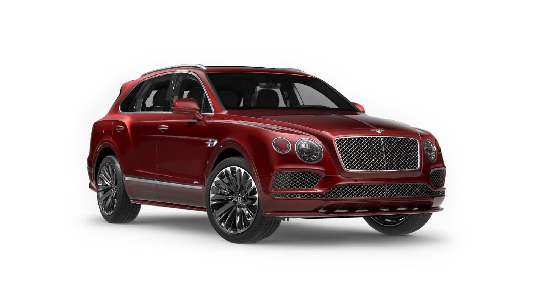 Bentley  Bentayga Candy Red Colour