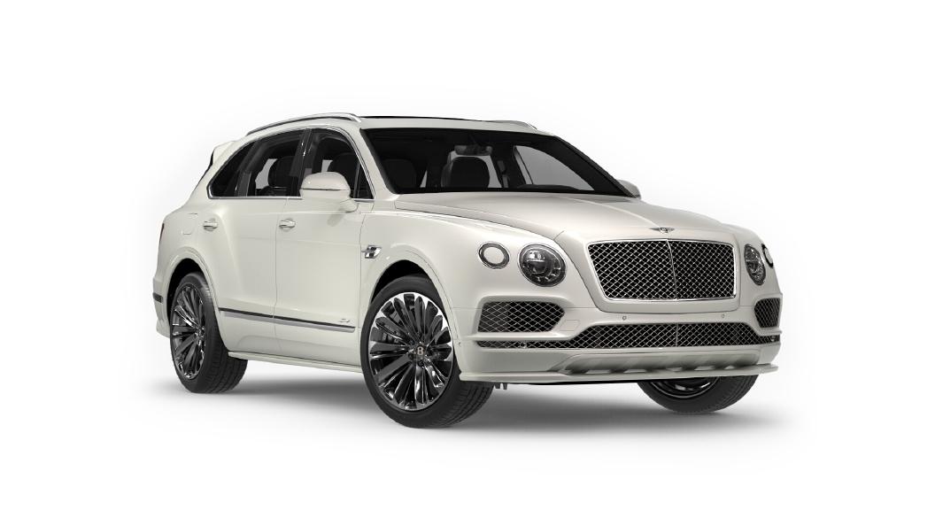 Bentley  Bentayga Glacier White Colour