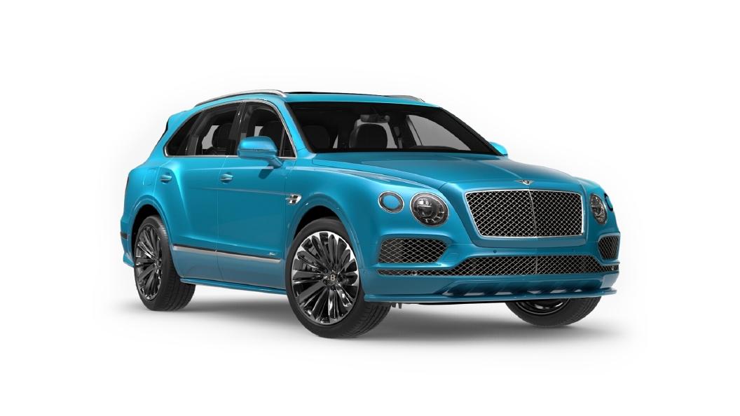 Bentley  Bentayga Kingfisher Colour