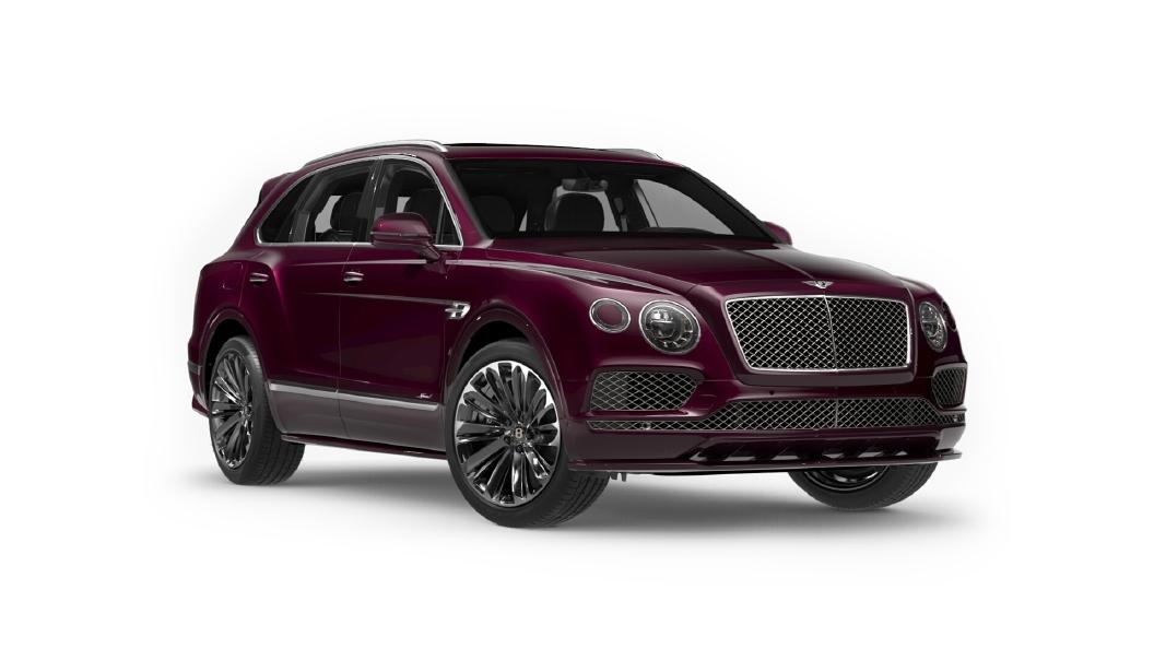 Bentley  Bentayga Magenta Colour